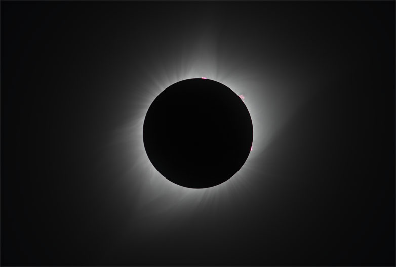 Wyoming Corona, 2017 solar eclipse